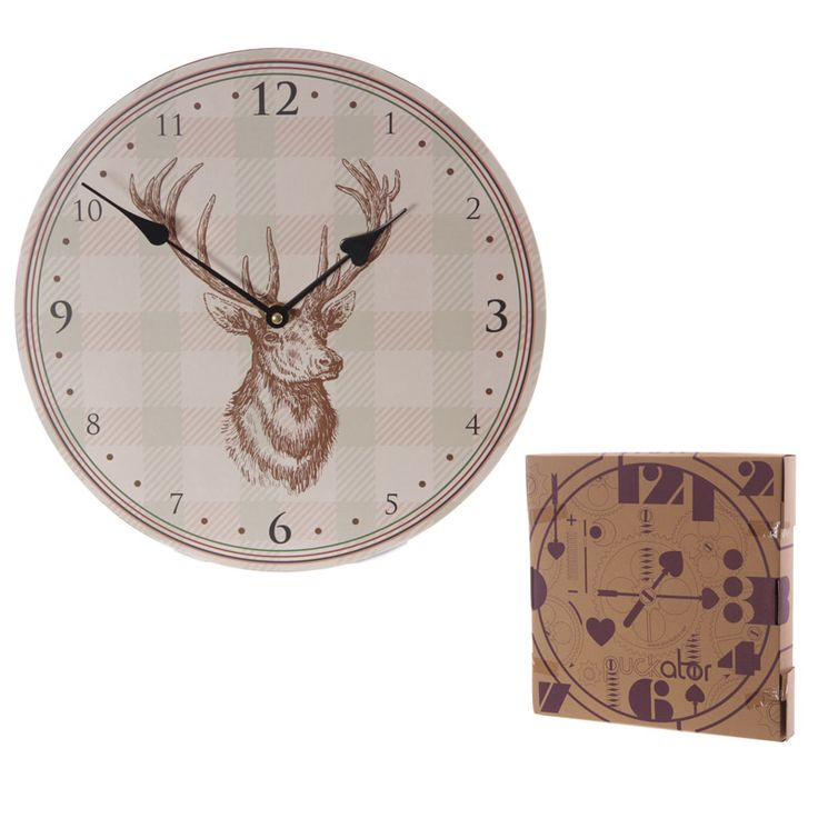 Stag Design Clock