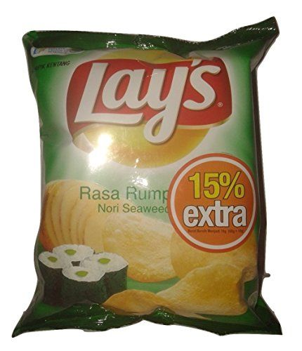 Lay's Seaweed Rumput Laut 35 G 1.23 Oz Read more  at the image link.