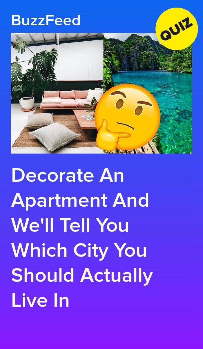 buzzfeed apartment decorating quiz