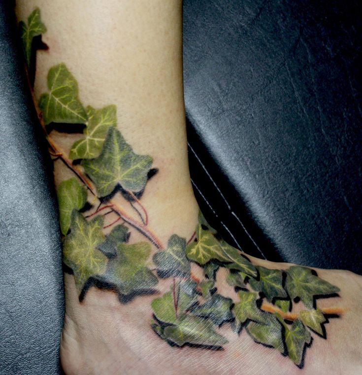 Poison Ivy Plant Tattoo Best 25+ Ivy ta...