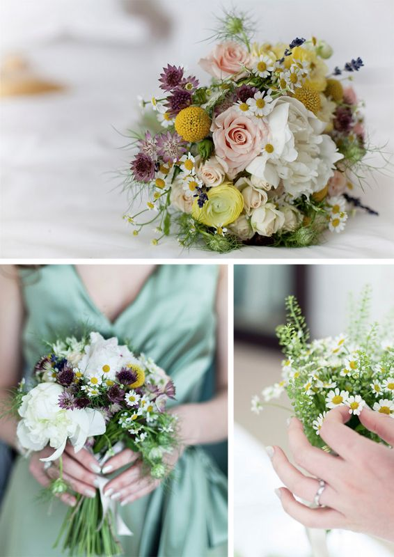 Gorgeous wildflower bouquets!