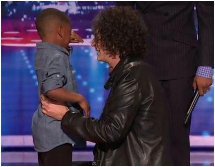 Agt Howard Makes Kid Cry