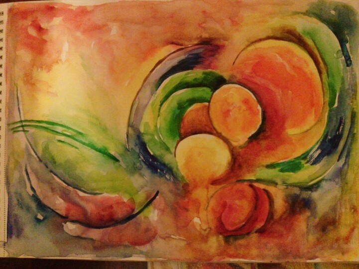 WATERCOLOR - Painter: Raciye Karpuz