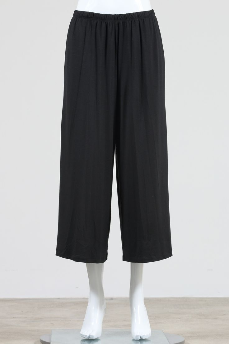 Comfy USA Gaucho Pants, Modal