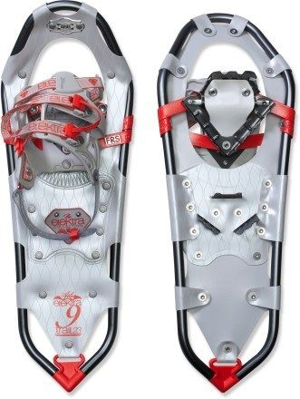 how to put on atlas elektra snowshoes