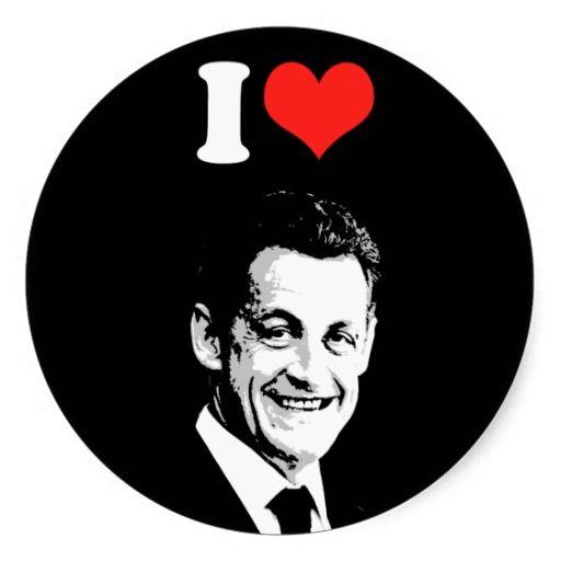 I Love Nicolas Sarkozy Sticker