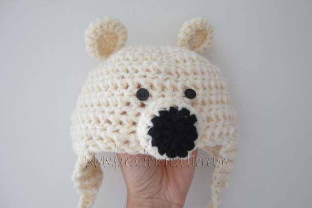 LUNAdei Creativi | Come si fa il Cappello da Orso a Crochet | http://lunadeicreativi.com