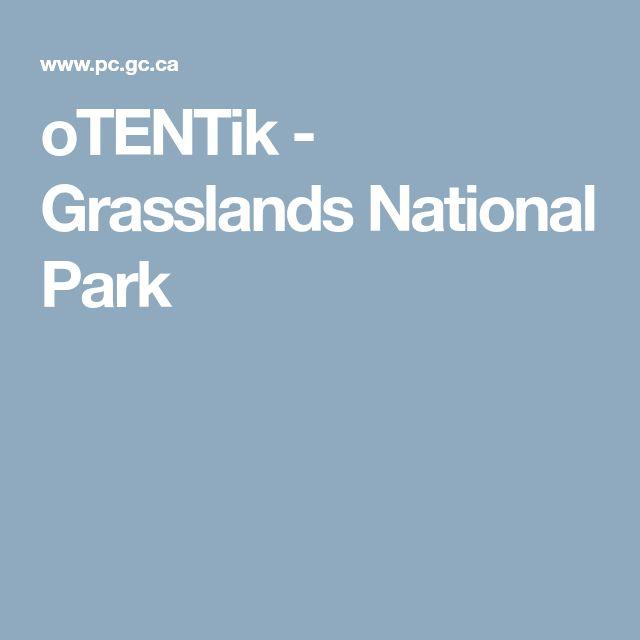 oTENTik - Grasslands National Park