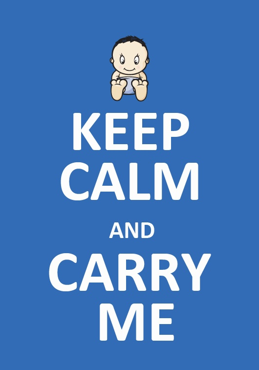 Keep calm & Carry Me