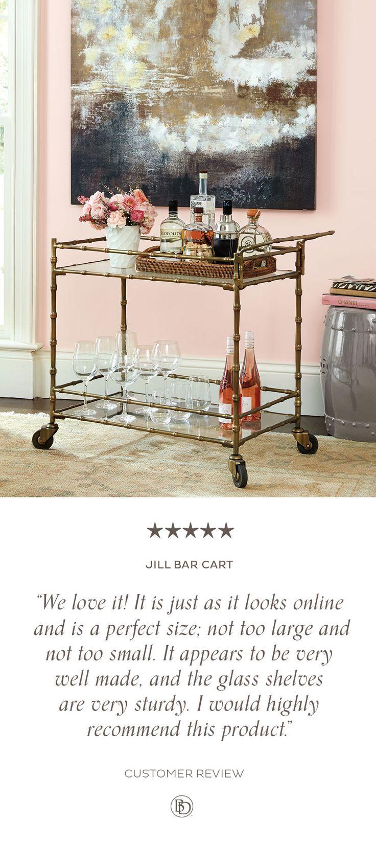 428 best kitchen images on pinterest architectural digest dream jill bar cart ballard designsbar cartsentertaining