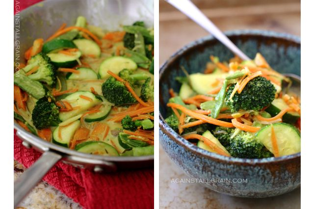 Toddler Approved Vegetables - Easy Vegetable Curry - Against All Grain