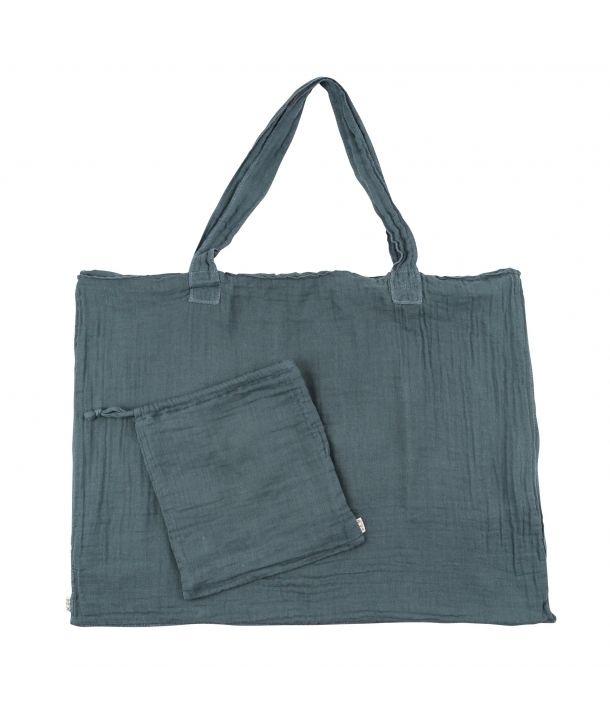 Bag & purse ice blue