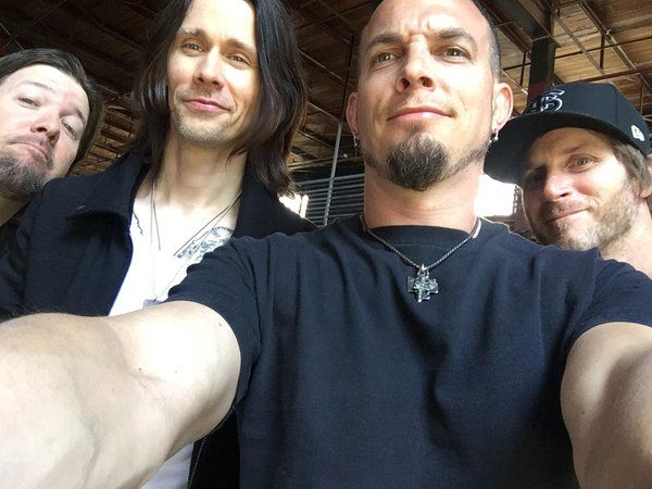 """Me and the boys"" via Mark Tremonti                                                                                                                                                                                  More"