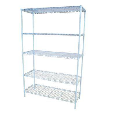 style selections 5 shelf freestanding shelving unit. Black Bedroom Furniture Sets. Home Design Ideas