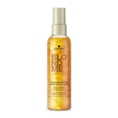 Schwarzkopf BlondMe Shine Enhancing Spindesio suteikiantis purškiamas plaukų kondicionierius 150ml