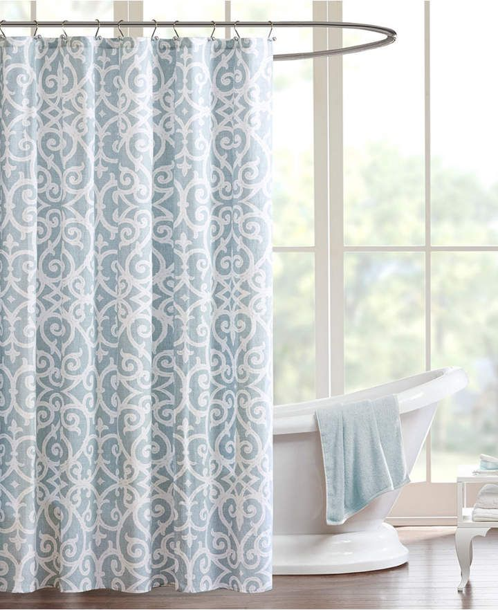 Madison Home Usa Pure Elena 72 X 72 Shower Curtain Bedding