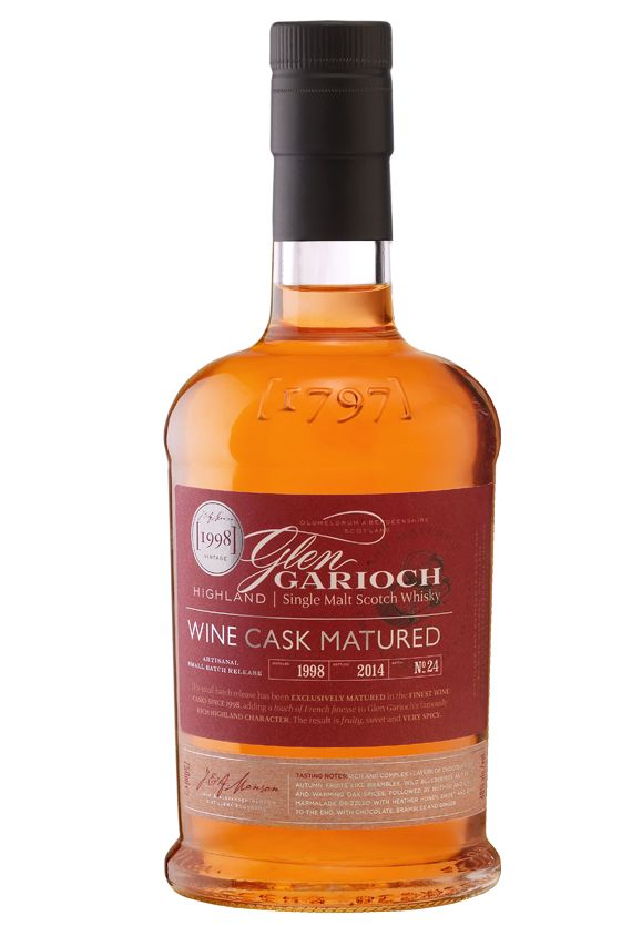 Glen Garioch | 1998 Wine Cask Matured available from Whisky Please.