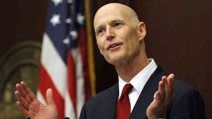 Florida Gov. Rick Scott (R) made it law Thursday to allow for unlicensed concealed carry during periods of mandatory evacuations. (Photo: Tampa Bay Sun)