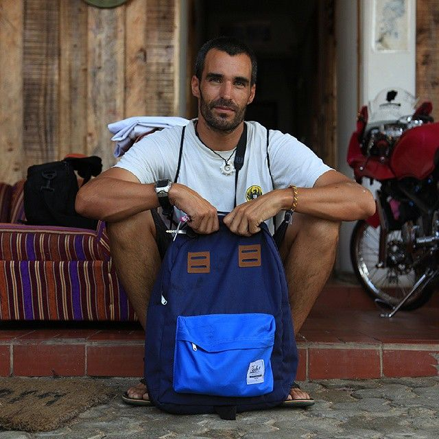 Backpacker accompanied with CUB TRAVELER Backpack Blue Navy is easy and simple, For info & order, don't shy to call us +62-87722077877 Line: sfkgoods Pin : 7DA65779 Email: cub.bags@gmail.com Base from Bandung, West Java, Indonesia