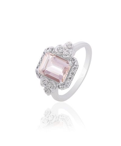 Mila Morganite Engagement Ring – Jenna Clifford