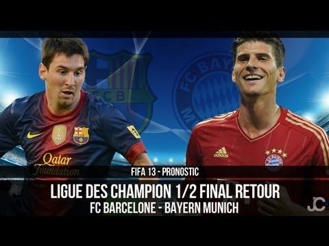 FOOTBALL -  FIFA 13 / Barcelone - Bayern Munich / Demi Finale Ligue des Champions / Pronostic - http://lefootball.fr/fifa-13-barcelone-bayern-munich-demi-finale-ligue-des-champions-pronostic/