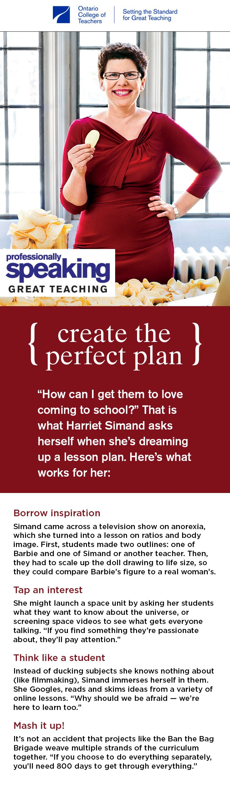 """""""How can I get them to love coming to #school?"""" That is what Harriet Simand asks herself when she's dreaming up a #lessonplan. Here's what works for her. #teacherstips #classroom #teacherideas #classroomideas #education #educational #school #classroomtips"""