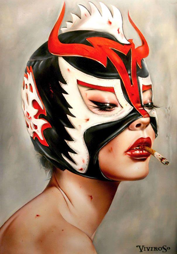 [033]Lucha – Adore by Brian M. Viveros                                                                                                                                                      Plus