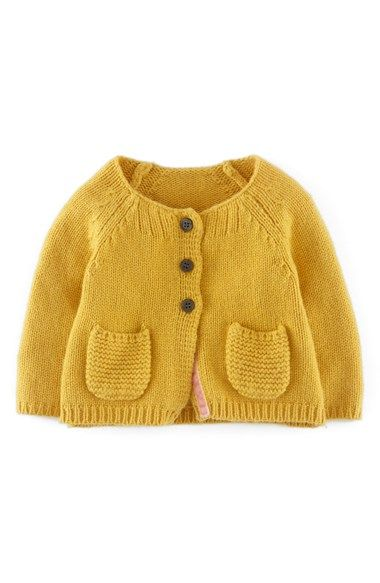 Boden Knit Cardigan (Baby Girl) Perfect fall sweater for the little ladies. :)