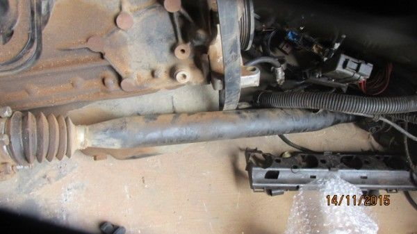 2010 VW Polo Vivo right driveshaft - Used