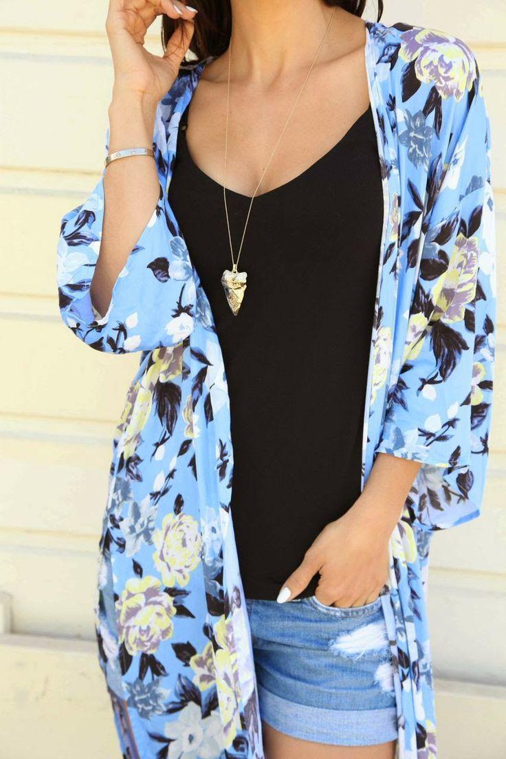 186 best Kimono images on Pinterest | Kimono style, Boho chic and ...