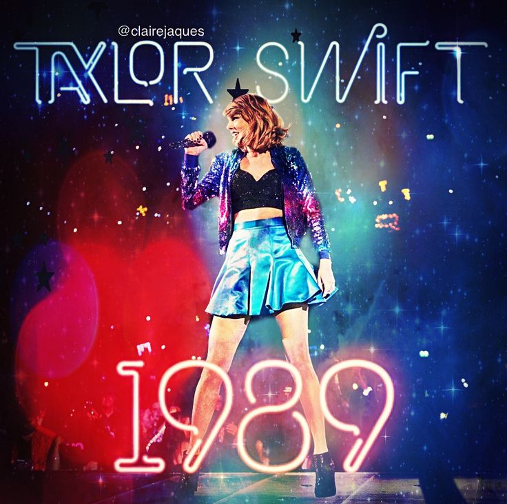 Taylor Swift 1989 Album Cover Edit by Claire Jaques