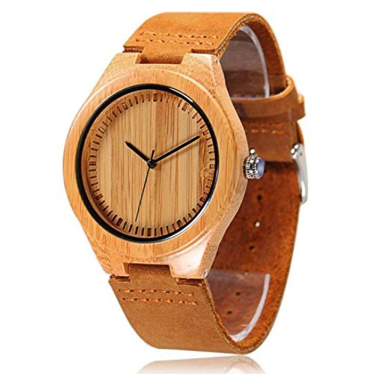Bamboo Wood Watches for Men and Women - Top Brands of 2017