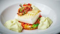 Палтус с овощным рататуйем и муссом из кальмара. Пошаговый рецепт с фото на Gastronom.ru