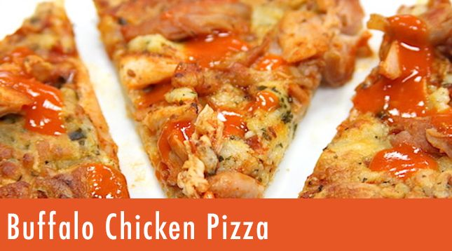 Buffalo Chicken Pizza | Recipe | Chicken pizza recipes ...