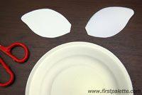 Step 2a Paper Plate Animals craft