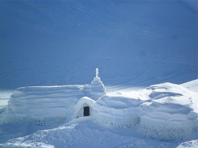 Romania: Ice Hotel Balea