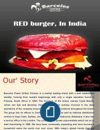peri peri sauce, Black and Red Burger in a Fine Dining Restaurant in Delhi