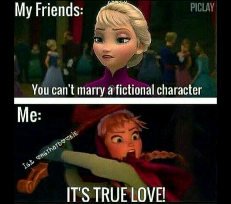 I hate frozen but this is true