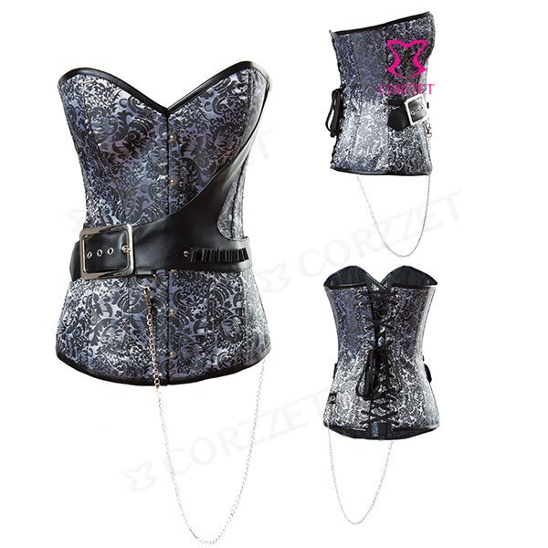 Brocade Overbust Steampunk Corset Burlesque Women Cosplay General Corselet Steel Boned Waist Training Corsets Gothic Clothing-in Bustiers & Corsets from Women's Clothing & Accessories on Aliexpress.com | Alibaba Group