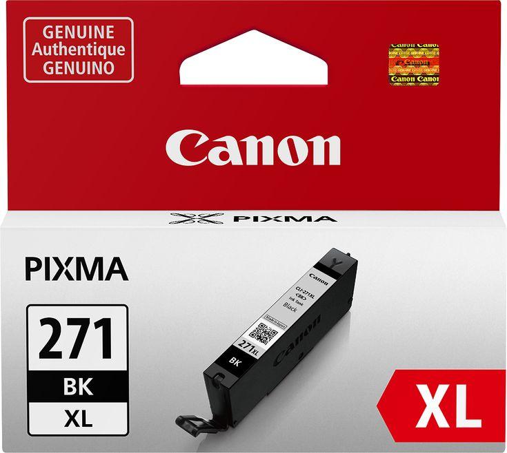 Canon - CLI-271XL High-Yield Ink Cartridge - Black, 0336C001