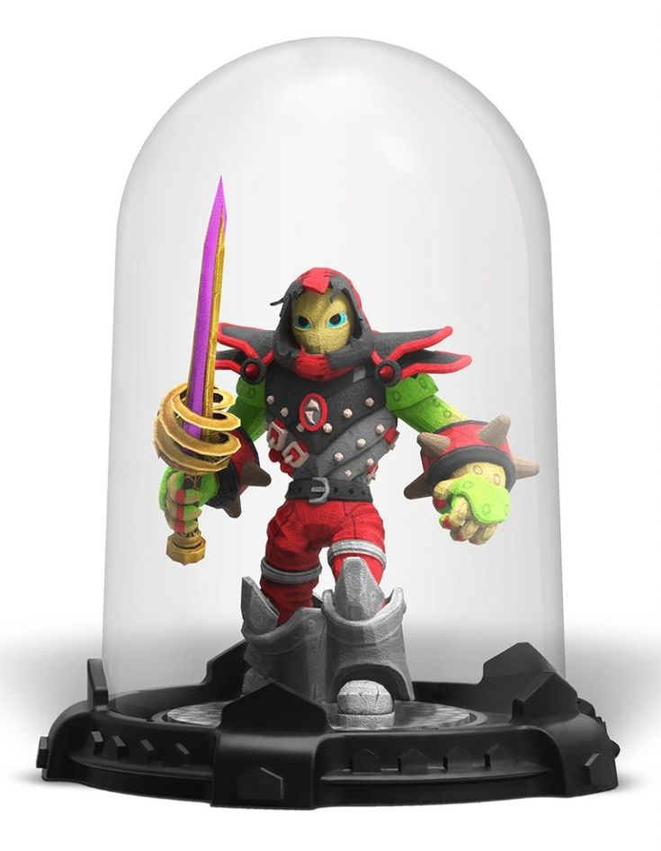 Soon you will be able to print your own Skylander Imaginator. Read more at SkylanderNutts.com