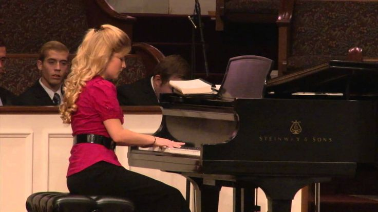 """Erin Bates plays """"Take My Life and Let It Be Consecrated, Lord, To Thee"""""""