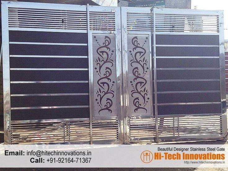 Stainless Steel Gates Manufacturer in Chandigarh, Mohali ...