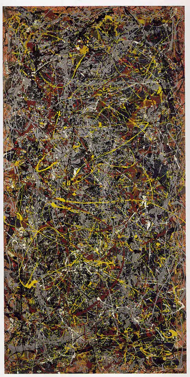 $165.4m No 5, 1948 by Jackson Pollock  A sale shrouded in secrecy and brokered by Sotheby's in 2006. David Martinez reportedly bough the 8-foot by 4-foot piece of fibreboard, covered in drips of brown and yellow paint from David Geffen, the Dreamworks co-founder and entertainment magnate. Mr Martinez's law firm later issued a statement saying he did not own it.
