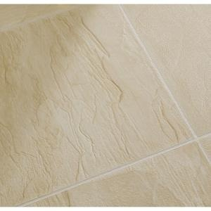 Dupont real touch elite beige slate 10mm x 11 9 16 in for Dupont flooring