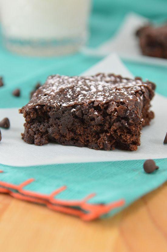 ... Freesh pinterest account - Double Chocolate Vegan Brownies Recipe