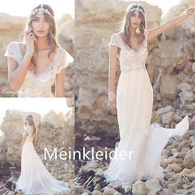 Long bohemian wedding dress showing shoes