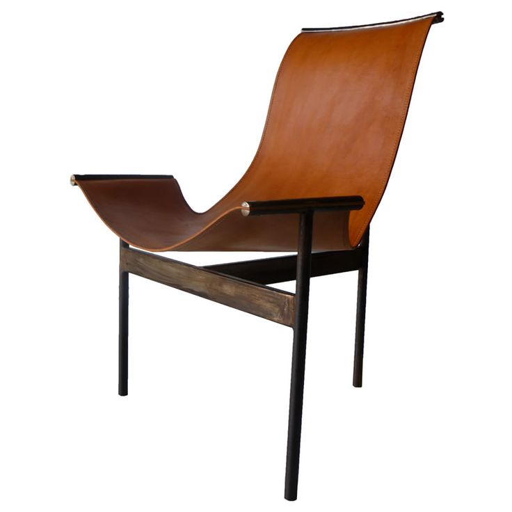fabulous lines in this leather chair reduced to an essential form this is the chair from sol y luna