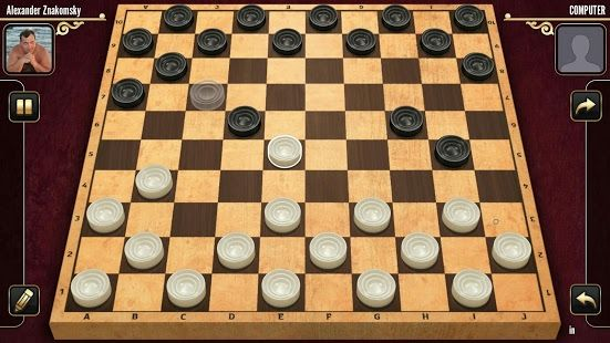 Checkers online free draughts apk screenshot
