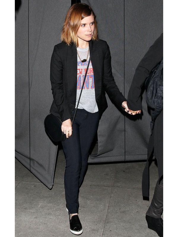 ストリートシックな私服に注目が集まるケイト・マーラ。この春真似したい、エフォートレスなTシャツルックを発見!
